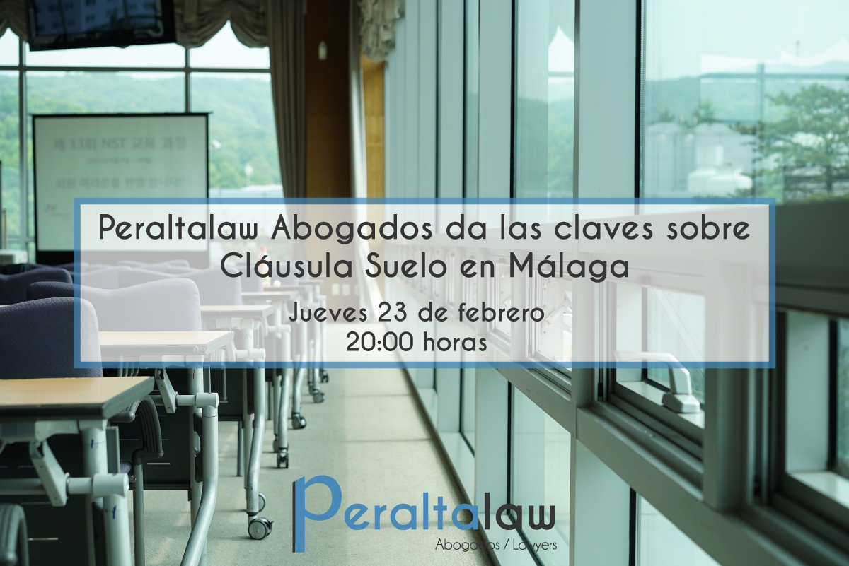 Peraltalaw abogados da las claves sobre cl usula suelo en for Ultimas noticias sobre clausula suelo