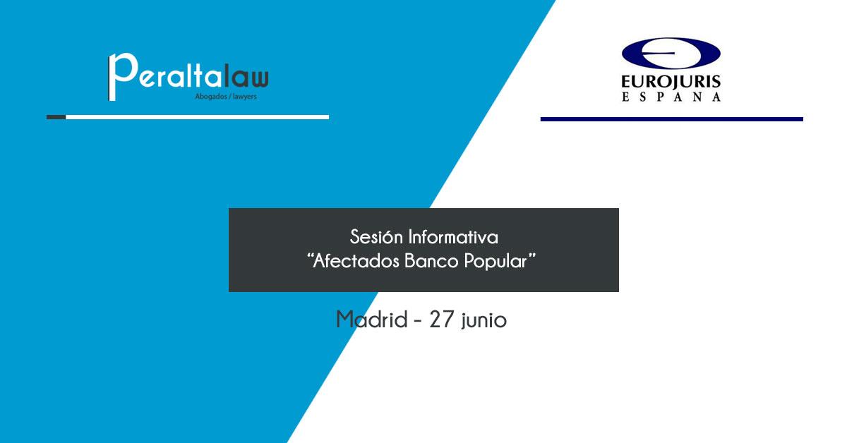 afectados por el banco popular sesion informativa
