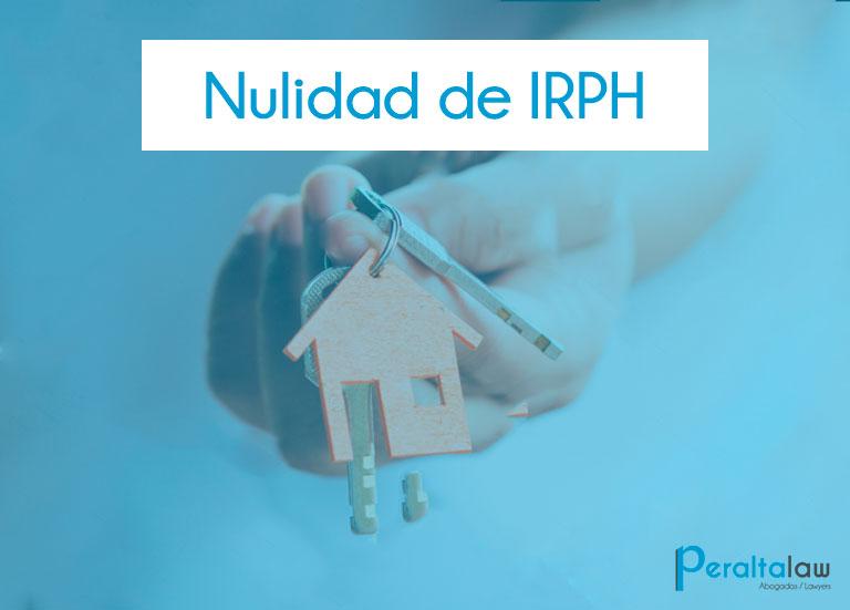 irph_nulidad