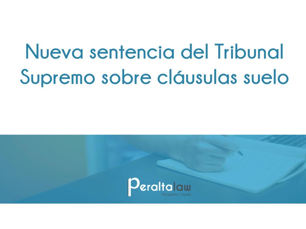 En peraltalaw conseguimos con xito la nulidad de la for Acuerdo devolucion clausula suelo