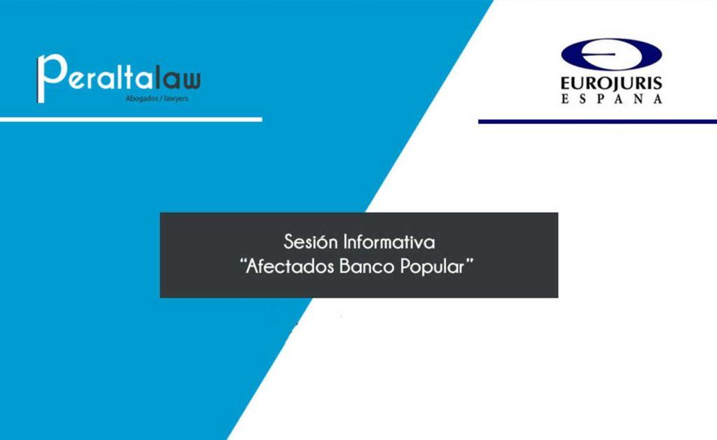 sesion informativa afectados banco popular
